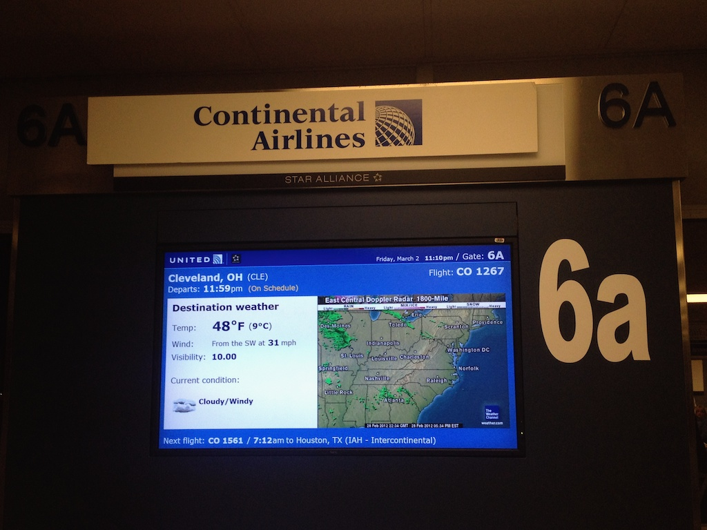 Continental's Last Flight