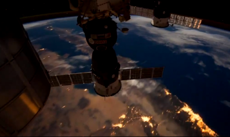 Sea of Cortez from teh ISS