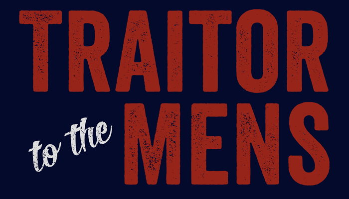 "Scalzi ""Traitor to the Mens"" T-Shirt & Prints"