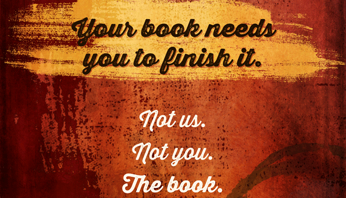 New Design: Your Book Needs You to Finish It