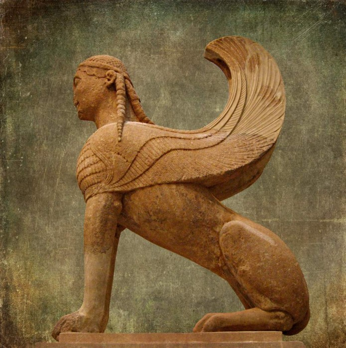 Greek Sphinx, Delphi