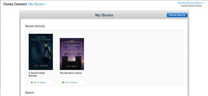 iBooks - iTunes Book List