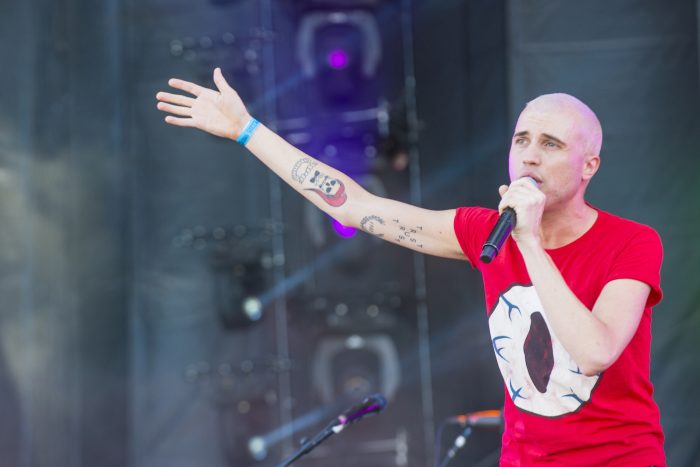 Tyler Glenn Has a New Song: Trash